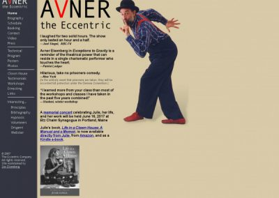 avner the eccentric
