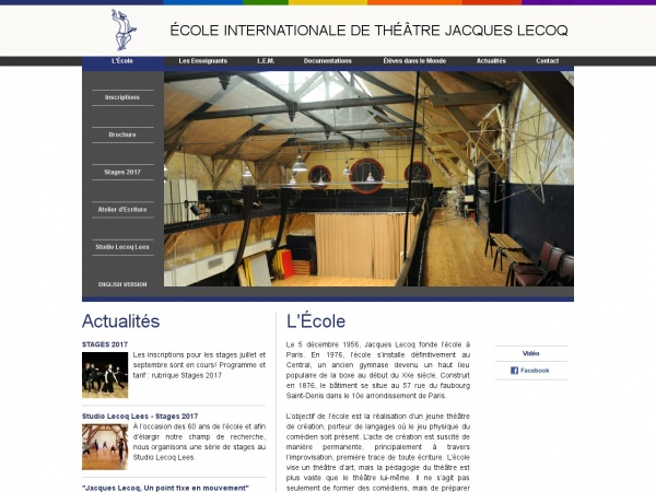 Ecole Internationale de Theatre Jacques Lecoq