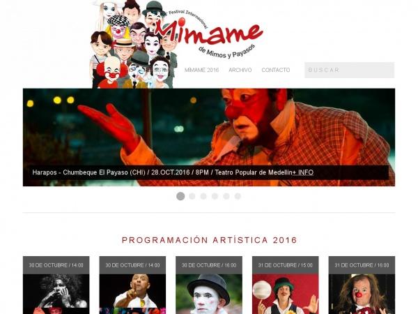 Festival Internacional de Mimos y Clowns Mimame