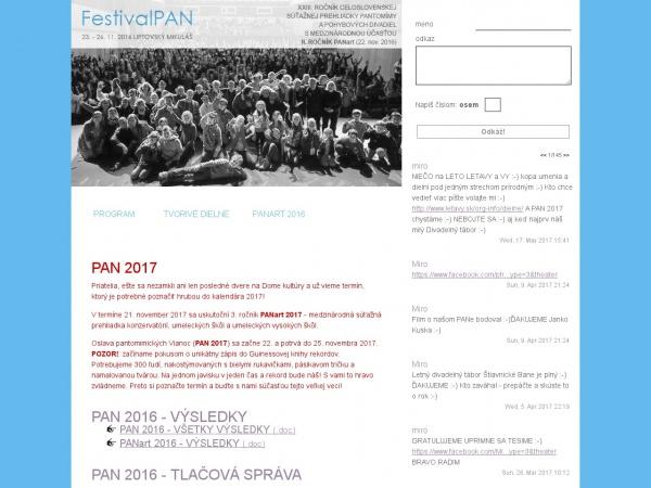 Festival Pan