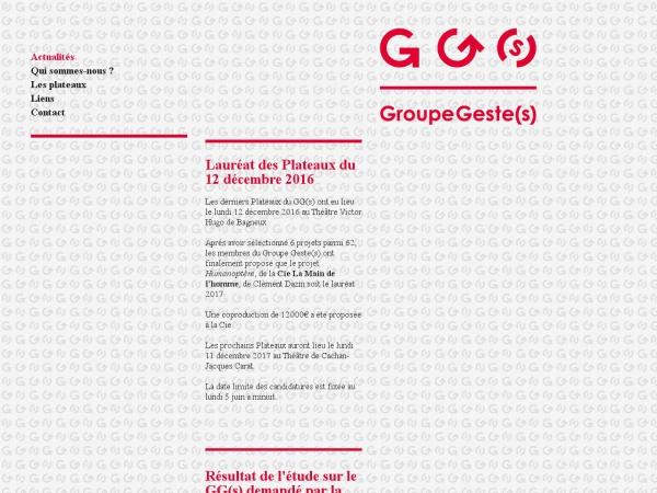 Groupe Geste