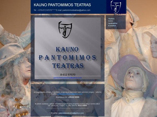 Kauno Pantomimos Teatras