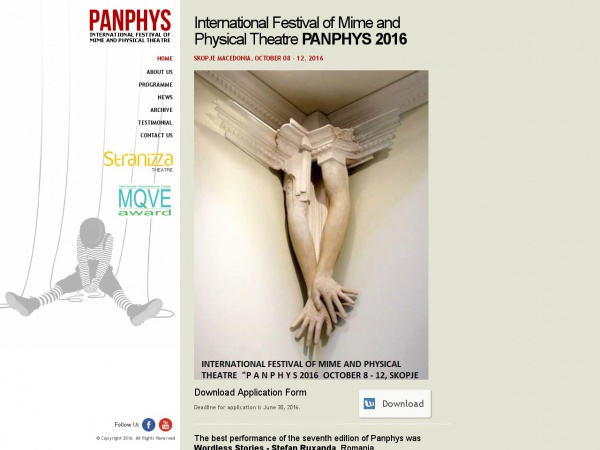 International Festival of Mime and Physical Theatre