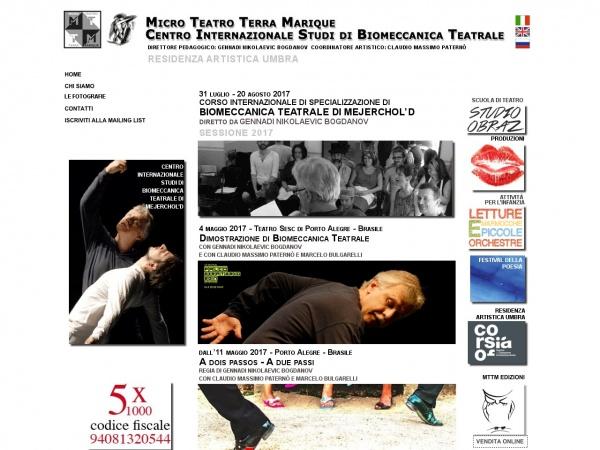Centro Internationale Studi Di Biomeccanica Teatrale Perugia