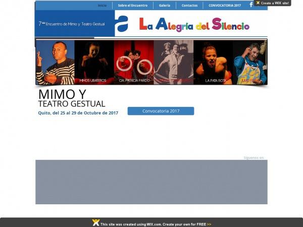 Encuentro de Mimo y Teatro Gestual